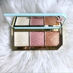 NEW Too Faced Triple Scoop Highlighter Palette